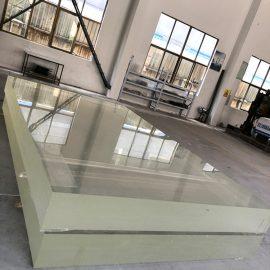 1 بوصة الاكريليك الزجاج ورقة الزجاج بليكسي ورقة البلاستيك السميك pmma للغطاء الدفيئة