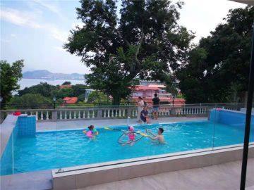 100mm 150mm سميكة بركة سباحة فاخرة الاكريليك زجاج زجاجي plexi لحمامات كبيرة