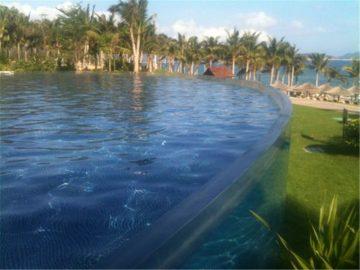 لوحة اكريليك مخصصة لمسبح الغوص