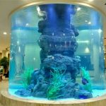 خزان الأسماك الكريستال