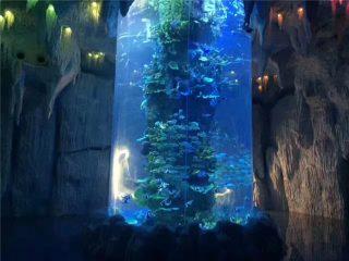 لوحات الاكريليك شفافة لحوض السمك الكبير ، والدبابات الأسماك